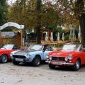 Oldtimertreffen, Waldgasthof Buchenhain - Fiat Cabrio-Evolution